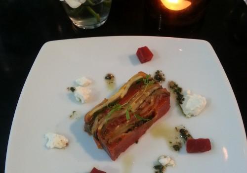 Char grilled vegetable terrine